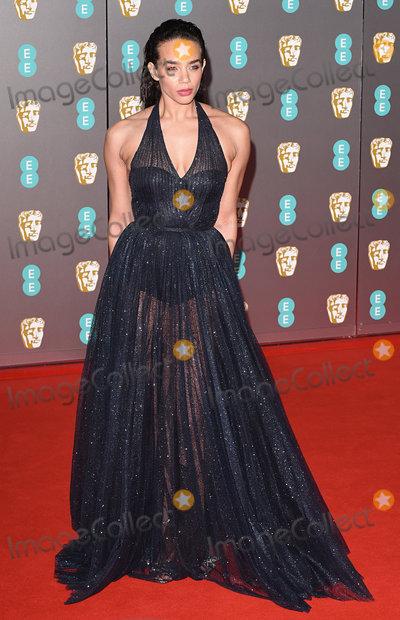 Hannah John-Kamen Photo - London UK Hannah John-Kamen at the 73rd British Academy Film Awards held at The Royal Albert Hall South Kennsington on Sunday 2 February 2020 Ref LMK392-S2827-040220Vivienne VincentLandmark Media WWWLMKMEDIACOM