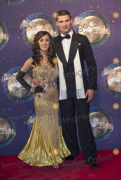 Aljaz Skorjanec Photo - LondonUK  Janette Manrara and husband Aljaz Skorjanec   at  the Strictly Come Dancing 2017 red carpet launch TV premiere at The Piazza on 28th August  2017  RefLMK386-S622-290817  Gary MitchellLandmark Media WWWLMKMEDIACOM
