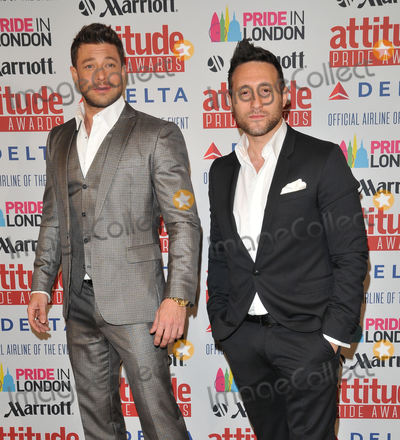 Antony Costa Photo - London UK Duncan James  Antony Costa at  the Attitude Pride Awards 2015 Grosvenor House Hotel Park Lane on Friday June 26 2015 in London England UK Ref LMK315 -51472-290615Can NguyenLandmark Media WWWLMKMEDIACOM