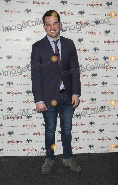Genesis Photo - London UK Ricky Rayment at  the UK Premiere of Iron Men at the Mile End Genesis Cinema on March 2nd 2017 in London EnglandRef LMK386-63058-030317Gary MitchellLandmark Media WWWLMKMEDIACOM