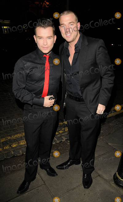 Christopher Biggins Photo - London UK Stephen Gateley and Andy Cowles at the Christopher Biggins 60th Birthday party held at the Landmark Hotel in London 15th December 2008Ref LMK315-Can NguyenLandmark Media