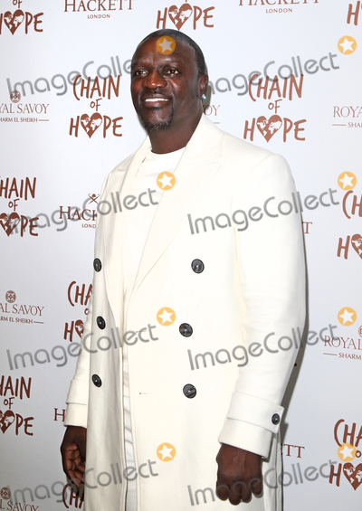 Akon Photo - London UK Akon  at the Chain Of Hope Ball at Old Billingsgate Lower Thames Street London 16 November 2018 RefLMK73-S1930-171118Keith MayhewLandmark Media WWWLMKMEDIACOM