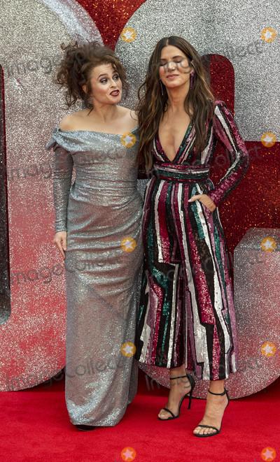Helena Bonham Photo - London UK Helena Bonham Carter and Sandra Bullock at the Oceans 8 UK Premiere held at Cineworld Leicester Square on June 13 2018 in LondonRef LMK386-J2210-140618Gary MitchellLandmark MediaWWWLMKMEDIACOM