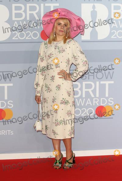Paloma Faith Photo - LondonUK  Paloma Faith     at 40th Brit Awards Red Carpet arrivals The O2 Arena London 19th February 2020 RefLMK73-S2890-190220Keith MayhewLandmark MediaWWWLMKMEDIACOM
