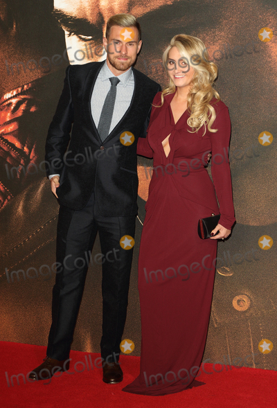 Aaron Ramsey Photo - London UK  Aaron Ramsey and wife Colleen Ramsay at  Jack Reacher Never Go Back European Premiere at Cineworld Leicester Square   20 October 2016 Ref  LMK73-62642-211016Keith MayhewLandmark Media WWWLMKMEDIACOM