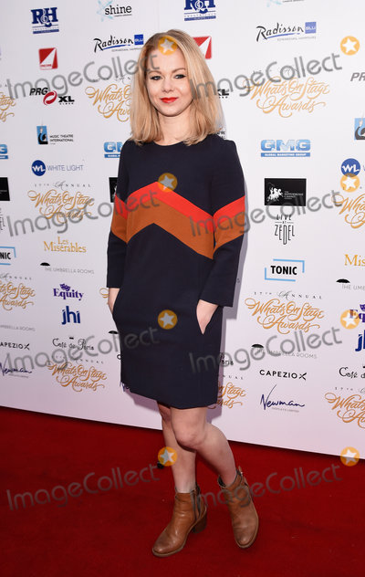 Amy Lennox Photo - London UK Amy Lennox at The Whats On Stage Awards Launch 2016 at Cafe De Paris Coventry Street London on Thursday 1 December 2016 Ref LMK392 -61328-021216Vivienne VincentLandmark Media WWWLMKMEDIACOM