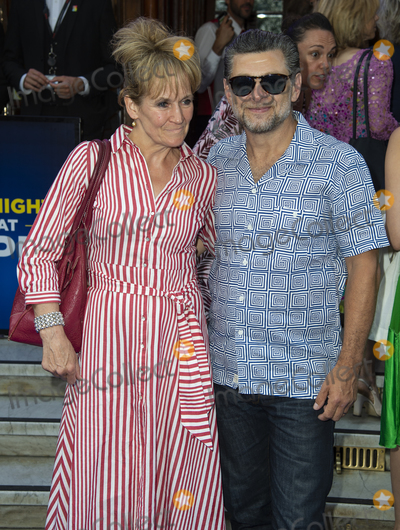 Andy Serkis Photo - London UK Andy Serkis  and Lorraine Ashbourne at the Press Night for The King and I at the London Palladium London England Tuesday 3rd July 2018 Ref LMK386-J2255-040718Gary MitchellLandmark MediaWWWLMKMEDIACOM