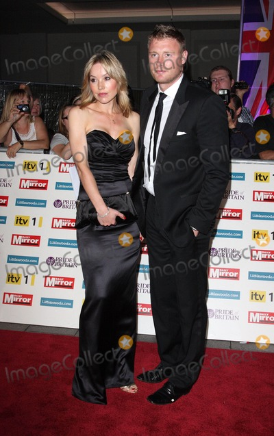 Andrew Flintoff Photo - London UK Rachel Flintoff and Andrew Flintoff at the Pride of Britain Awards at the Grosvenor House Hotel Park Lane 3rd October 2011Keith MayhewLandmark Media