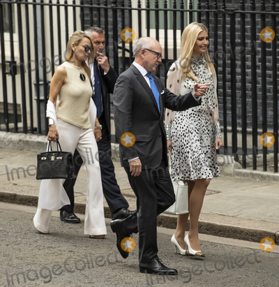 Theresa May Photo - LondonUK  Ivanka Trump flanked by US Ambassador to Britain Woody Johnson and his wife Suzanne Ircha as Prime Minister Theresa May and husband Philip May welcome US President Donald Trump and First Lady Melania Trump to 10 Downing street for a meeting on the second day of the US President and First Ladys three-day State visit4 June 2019Ref LMK386-MB3000-040619Gary Mitchell  Landmark Media WWWLMKMEDIACOM