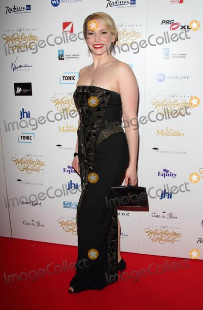 Emma Williams Photo - London UK Emma Williams  at the 17th Annual Whats On Stage Awards held at The Prince Of Wales Theatre London on Sunday 19 February 2017Ref LMK73 -61731-200217Keith MayhewLandmark Media WWWLMKMEDIACOM