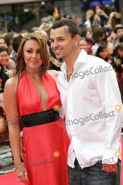 Andy Scott-Lee Photo - London UK Michelle Heaton (Liberty X) and fiance Andy Scott-Lee at the premiere of The Lake House held at the Vue cinema in Leicester square19 June 2006Paulo PirezLandmark Media