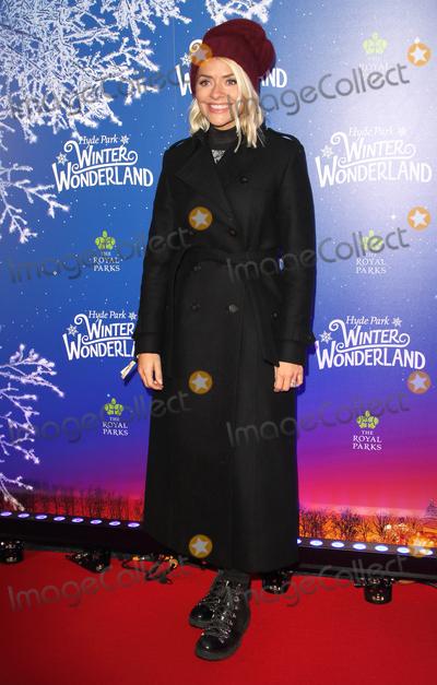 Hollies Photo - London UK Holly Willoughby at Winter Wonderland 2019 VIP Launch at Hyde Park London on November 20th 2019Ref LMK73-J5836-211119Keith MayhewLandmark MediaWWWLMKMEDIACOM
