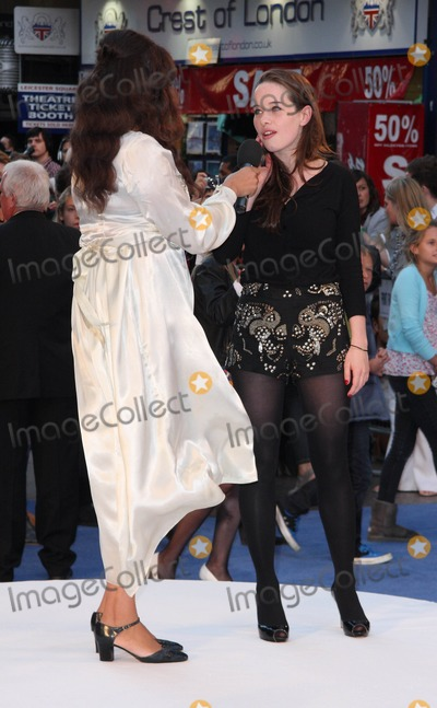 Anna Popplewell Photo - London UK  160910Anna Popplewell and Miquita Oliver at the UK premiere of the film The Death and Life of Charlie St Cloud held at The Empire cinema Leicester Square16 September 2010Keith MayhewLandmark Media
