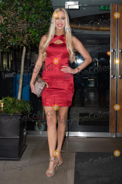 Hayley Palmer Photo - London UK Hayley Palmer   at KISS Nails and Lashes x Billie Faiers - launch party at The Marylebone Hotel in London Thursday 16th August 2018Ref LMK73-J2504-170818Keith MayhewLandmark MediaWWWLMKMEDIACOM