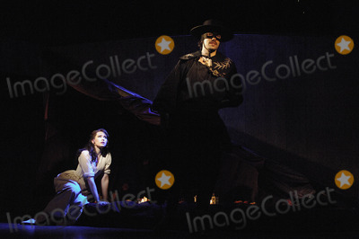 Adam Levy Photo - London UK Matt Rawle reprises his role as Zorro in the Gipsy Kings musical of the same name at the Garrick Theatre in the West End The troubled 3million production was due to open on the 30 June but was postponed due to technical problems Matt was joined by some of the 30 cast who include Emma Williams Adam Levy and Lesli Margherita 9 July 2008 Ali KadinskyLandmark Media