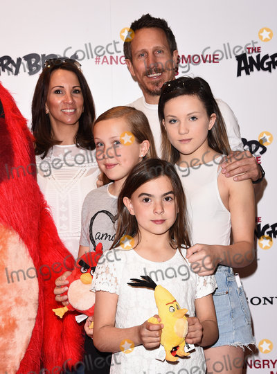 Andrea Mclean Photo - London UK  Andrea McLean and family at The Angry Birds Movie Red Carpet Gala Screening at Picturehouse Centra Shaftesbury Avenue London on Saturday 7 May 2016  Ref LMK392-60409-080516Vivienne VincentLandmark Media WWWLMKMEDIACOM