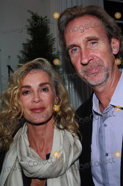 Mike Rutherford Photo - London England Mike Rutherford and wife Angie at the party to celebrate Penny Smiths launch of her first novel Coming Up Next 24th June 2008Chris JosephLandmark Media