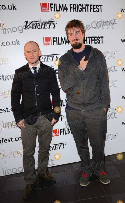 Adam Wingard Photo - London UK Adam Wingard and Simon Barrett  attend  The Guest  Frightfest 2014 Opening Night Film screening at Vue West End Leicester Square London on Thursday 21st August 2014 Ref LMK392 -49416 -220814Vivienne VincentLandmark Media WWWLMKMEDIACOM