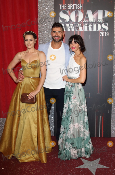 Anna Passey Photo - Manchester UK Anna Passey David Tag and Jennifer Metcalfe   at the The British Soap Awards 2019 red carpet arrivals The Lowry Media City Salford Manchester UK on June 1st 2019RefLMK73-S2520-020619Keith MayhewLandmark Media WWWLMKMEDIACOM