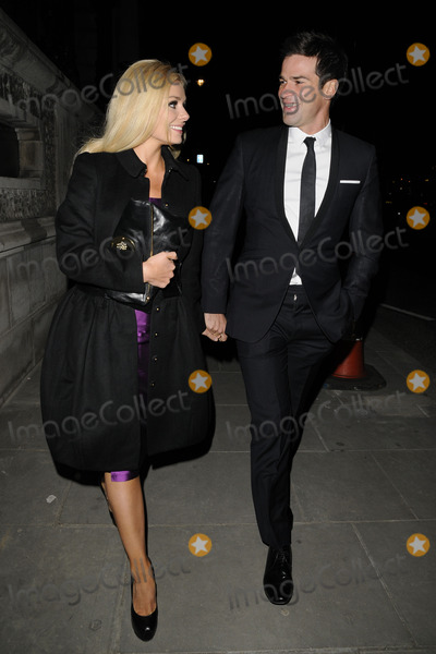 Katherine Jenkins Photo - London UK Katherine Jenkins and her boyfriend Gethin Jones spotted walking along St James Street Mayfair 24th November 2010Can NguyenLandmark Media