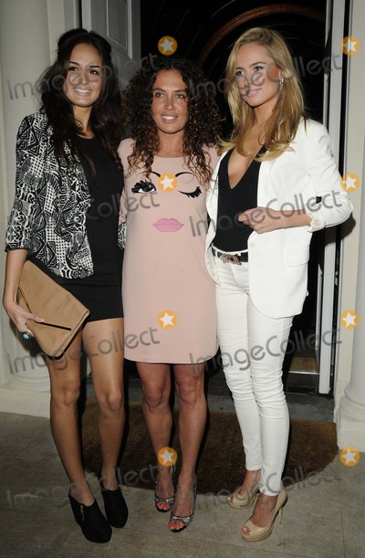 Anita Kaushik Photo - London UK  Anita Kaushik Tara Smith  Kimberley Garner  at the Tara Smith Haircare launch party held at Sketch in Mayfair 26 September 2012Can NguyenLandmark Media