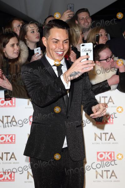 Bobby Norris Photo - London UK Bobby Norris at National Television Awards 2017 at O2 Peninsula Square London on January 25th 2017Ref LMK73 -61562-260117Keith MayhewLandmark Media WWWLMKMEDIACOM