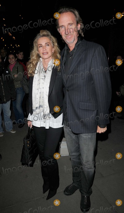Mike Rutherford Photo - LondonUK  Mike Rutherford and wife  Angie  at the  Into the Hoods gala performance Novello Theatre London 27th March 2008 Can NguyenLandmark Media