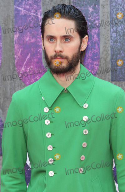 Jared Leto Photo - London UK Jared Leto at the European Premiere of Suicide Squad at the Odeon Leicester Square London on August 3rd 2016Ref LMK73-60940-040816Keith MayhewLandmark MediaWWWLMKMEDIACOM