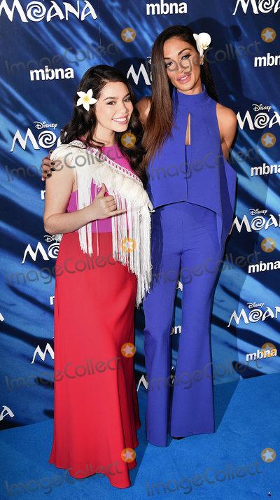 Aulii Cravalho Photo - London UK Aulii Cravalho and Nicole Scherzinger at Moana Special Screening held at BAFTA David Lean Room Piccadilly London on Sunday 20 November 2016Ref LMK392 -61295-211116Vivienne VincentLandmark Media WWWLMKMEDIACOM