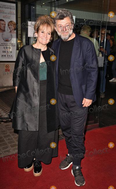 Andy Serkis Photo - London UK Lorraine Ashbourne Andy Serkis at A day In The Death Of Joe Egg Press Night held at Trafalgar studios 14 Whitehall London on Wednesday 2 October 2019 Ref LMK392 -J5533-031019Vivienne VincentLandmark Media WWWLMKMEDIACOM