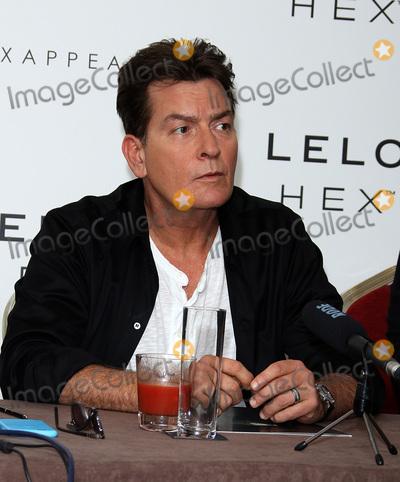 Charlie Sheen Photo - LondonUK  Charlie Sheen at  Lelo Hex  European Launch  Press Conference The Westbury Hotel London UK 16 June 2016 RefLMK394-60716-170616 Brett D CoveLandmark Media  WWWLMKMEDIACOM