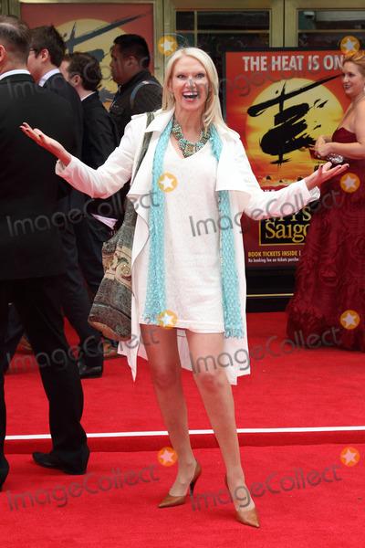 Anneka Rice Photo - London UK Anneka Rice at Miss Saigon Press Night at the Prince Edward Theatre London  May 21st 2014 Ref LMK73-48535-220514Keith MayhewLandmark Media WWWLMKMEDIACOM