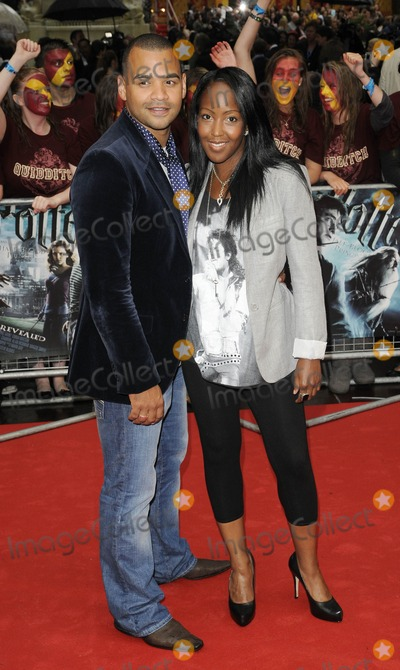 Angelica Bell Photo - London UK Michael Underwood and Angelica Bell at the World Premiere of Harry Potter and ther Half Blood Prince at the Odeon Leicester Square London  7th July 2009Can NguyenLandmark Media