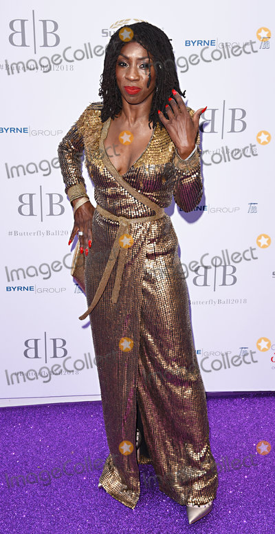 Heather Small Photo - London UK Heather Small  at The Caudwell Children Butterfly Ball held at Grosvenor House Hotel Park Lane London on Thursday 14 June 2018 Ref LMK392 -J2233-150618Vivienne VincentLandmark Media WWWLMKMEDIACOM