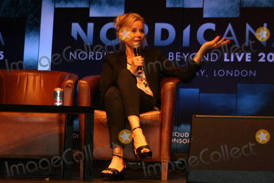 Sofia Helin Photo - London UK  Sofia Helin (The Bridge) at Nordicana Nordic Noir  Beyond event at the Troxy London Day 2 7th June 2015 RefLMK00-51535-080615 Steve BealingLandmark Media WWWLMKMEDIACOM