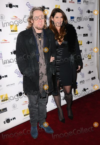 Adrian Smith Photo - London UK Adrian Smith  and guest at  Zoom F1 Charity Auction and Reception at The InterContinental Hotel Park Lane London on 16 January 2015Ref LMK392-50401-170115Vivienne VincentLandmark Media WWWLMKMEDIACOM
