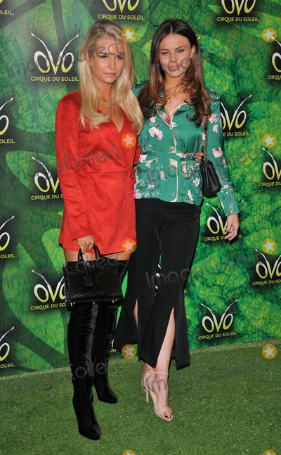 Albert Hall Photo - London UK  100118Lottie Moss and Emily Blackwell at the OVO by Cirque du Soleil press night Royal Albert Hall Kensington Gore10 January 2018Ref LMK315-MB1099-120118Can NguyenLandmark MediaWWWLMKMEDIACOM