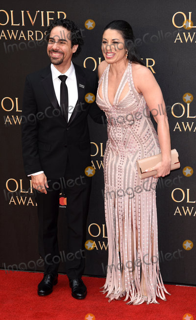 Alex Lacamoire Photo - London UK Ileana Ferreras and Alex Lacamoire at The Olivier Awards 2018 held at The Royal Albert Hall Kensington Gore South Kensington London on Sunday 8 April 2018Ref LMK392-J1860-090418Vivienne VincentLandmark Media WWWLMKMEDIACOM