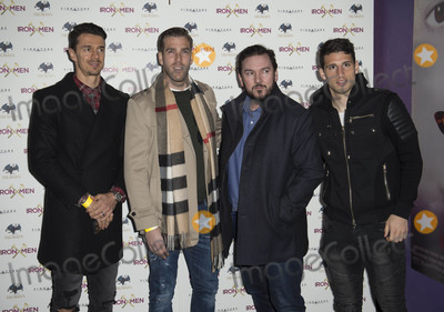 Genesis Photo - London UK Jose Fonte Adran Guest and Jonathan Calleri  at  the UK Premiere of Iron Men at the Mile End Genesis Cinema on March 2nd 2017 in London EnglandRef LMK386-63058-030317Gary MitchellLandmark Media WWWLMKMEDIACOM