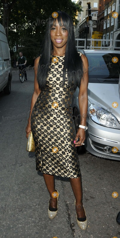 Heather Small Photo - London UK  Heather Smallat   the Omega House - Athletics Night Themed Party House of St Barnabas Greek St London 8th August 2012 Can NguyenLandmark Media