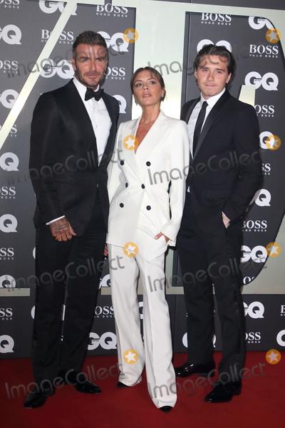 Brooklyn Beckham Photo - London UK David Beckham Victoria Beckham and Brooklyn Beckham  at GQ Men of the Year Awards held at the Tate Modern Bankside London on September 3rd 2019Ref LMK73-J5391-040919Keith MayhewLandmark MediaWWWLMKMEDIACOM