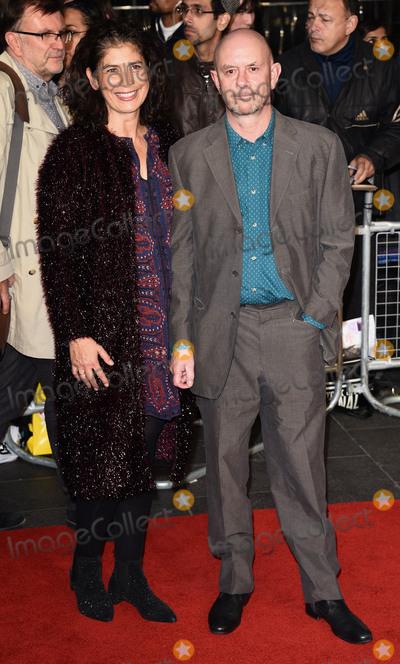 Amanda Posey Photo - London UK Amanda Posey and Nick Hornby at London Film Festival Gala Premiere of Brooklyn at Odeon Leicester Square London on Monday 12 October 2015 Ref LMK392-58359-131015Vivienne VincentLandmark Media WWWLMKMEDIACOM