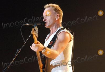 Sting Photo - London UK The Police (Sting) perfoming at Wembley Arena London 20th October 2007Eric Best Landmark Media
