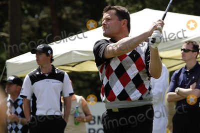 Chris Hollins Photo - Wentworth Surrey UK Ex-Footballer now Journalist Chris Hollins playing the BMW Championship Pro-Am event at Wentworth Surrey England 25th May 2011Ian BinesLandmark Media