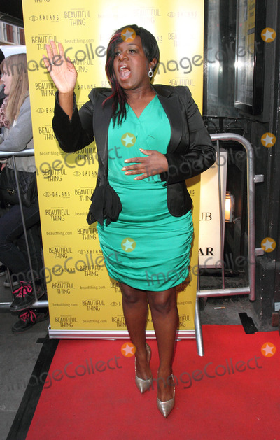 Tameka Empson Photo - London UK   Tameka Empson  at the  Press Night for Beautiful Things at the Arts Theatre Leicester Square 17th April 2013 Keith MayhewLandmark Media