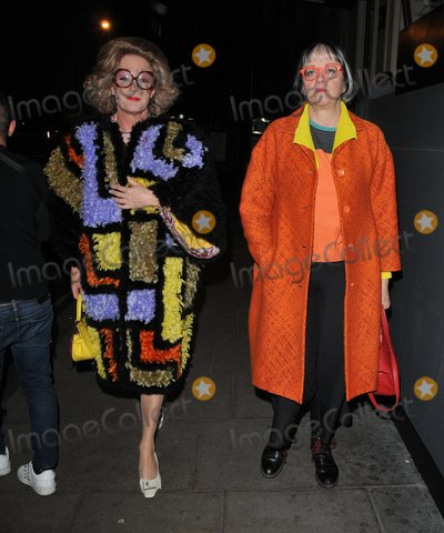 Grayson Perry Photo - London UK Grayson Perry and Philippa Perry at the Ultimate News Quiz 2019 annual charity quiz in aid of Action for Children and Student Partnerships Worldwide Grand Connaught Rooms Great Queen Street London England UK on Wednesday 20th March 2019Ref LMK315-J4554-210319CAN NGUYENLandmark MediaWWWLMKMEDIACOM