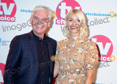 Hollies Photo - London UK  Philip Schofield and Holly Willoughby at TV Choice Awards 2019- Red Carpet Arrivals at Park Lane The Hilton in London on 9 September 2019Ref  LMK12-J5423-100919J AdamsLandmark MediaWWWLMKMEDIACOM