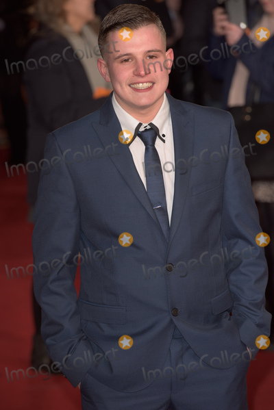 Shaun Thomas Photo - London UK Shaun Thomas at the World Premiere of Grimsby ( The Brothers Grimsby ) at the Odeon Leicester Square London on February 22nd 2016Ref LMK370-60021-230216Justin NgLandmark Media WWWLMKMEDIACOM