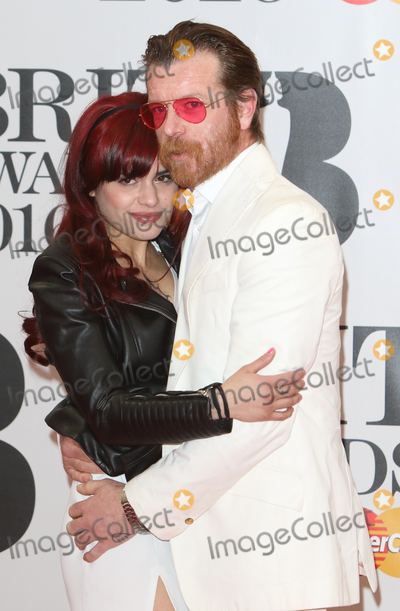 Jesse Hughes Photo - London UK Jesse Hughes of Eagles of Death Metal at BRIT Awards 2016 Red Carpet Arrivals at the O2 Arena London on February 24th 2016Ref LMK73-60035-250216Keith MayhewLandmark Media WWWLMKMEDIACOM