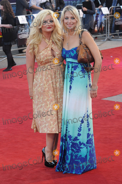 Ali Bastian Photo - London UK  Sinead Kelly and Ali Bastian   at the UK Premiere of Cowboys  Aliens at The O2 North Greenwich London 11th August 2011 Matt LewisLandmark Media